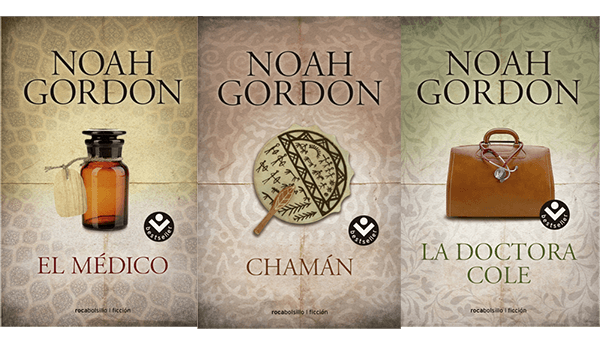 Reseña: La saga de la Familia Cole de Noah Gordon