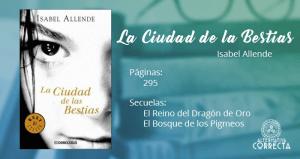 Reseña: La Ciudad de las Bestias de Isabel Allende