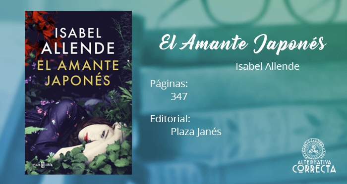Reseña: El amante japonés de Isabel Allende