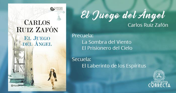 Reseña: El Juego del Ángel de Carlos Ruiz Zafón