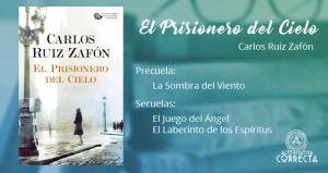 Reseña: El Prisionero del Cielo de Carlos Ruiz Zafón