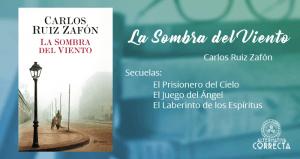 Reseña: La Sombra del Viento de Carlos Ruiz Zafón