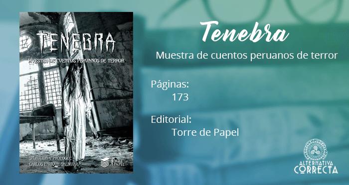 Comentario: TENEBRA, muestra de cuentos peruanos de terror