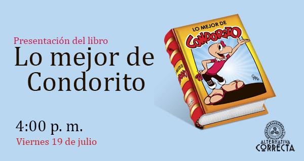 Presentación del libro «Lo mejor de Condorito» en la  24° Feria Internacional del Libro de Lima