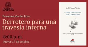 Presentación del libro: Derrotero para una travesía interna, de Nicola Sabroso Palomino