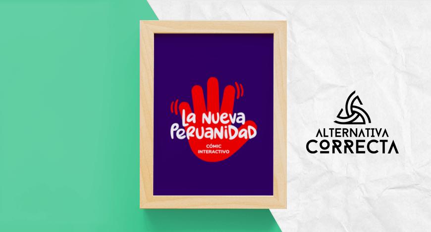 """Cómic interactivo """"La Nueva Peruanidad"""""""