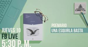Presentación del poemario «Una esquirla basta», de Rodrigo Luque