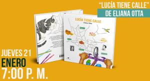 Presentación del libro «Lucía tiene calle», de Eliana Otta