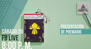 """Presentación de poemario """"Canción y vuelo de Santosa"""" de Gloria Alvitres"""